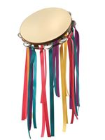 1960s Hippie Tambourine