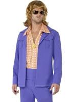 Mens 1970s Leisure Suit Costume