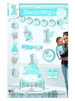 1st Birthday Boy Decorating Kit
