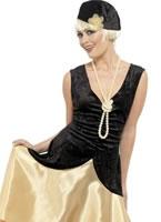 Adult 20's Gatsby Girl Costume [33368]