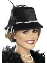 Ladies 1920s Hat [33445]