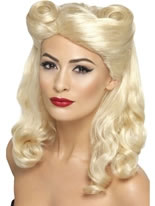 40's Pin Up Wig