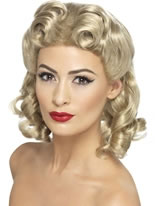 40s Sweetheart Wig [26230]