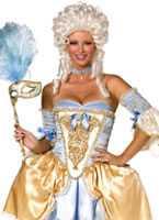Adult 5 Piece Bijou Boutique Baroque Costume [34365]