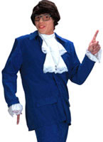 Adult 60's Austin Powers Costume