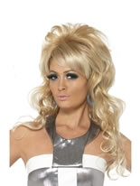 60's Beauty Queen Bouffant Wig [42011]