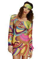 Adult 60's Flower Power Costume