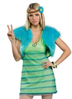 60s Girl Lime Costume [889184]