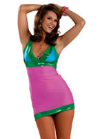 Adult 60's Go- Go Bright Costume