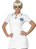 Adult 60's Mod Ladies Costume