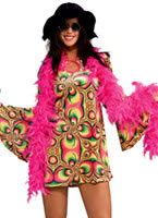 Adult 60's Psychadelia Costume [888681]