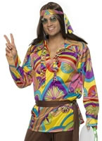 Adult 60's Psychedelic Hippy Costume [32032]