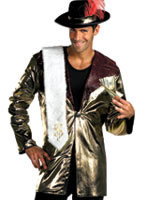 70's Big Daddy Player Pimp Costume