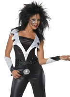 Adult 70's Glam Rock Chick Costume
