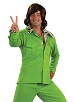 70's Green Leisure Suit [889183]
