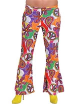 Adult Fun Design Deluxe Ladies Flared Trousers