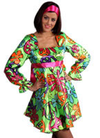 70s Magic Girl Dress Costume