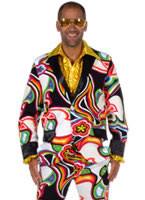 70's Men's Liquid Design Suit [205228]