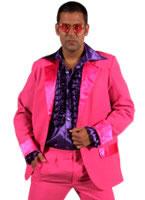 Adult 70's Mens Suit PINK