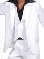70's White Waistcoat