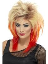 80's Blonde Mullet Wig [43245]