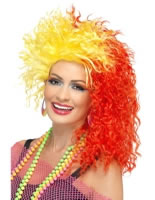 80s Fun Girl Crimp Wig [27184]