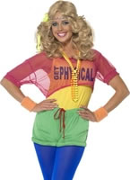 Adult 80's Let's Get Physical Girl Costume [39465]