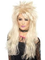 80's Blonde Mullet Wig [43246]