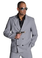 Deluxe Miami Vice 'Rico Tubbs' Grey Suit