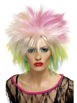 80's Multi-Coloured Cutie Wig