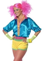 Adult 80's Neon Skater Girl Costume