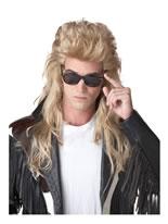 80's Rock Mullet Wig [70626]