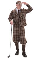 Adult 1930s Golfer Costume