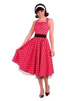 Adult 1950s Pretty in Polkadots Costume [AC530]