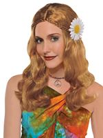 Adult Hippie Chick Wig