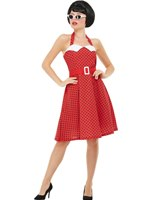 Adult 50s Rockabilly Pin Up Costume [51039]