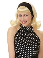 Adult 50s Sandy Dee Wig