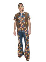 Adult 60's Groovy Hippy Man Costume [9905119]