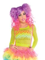 Adult 80s Fishnet Top