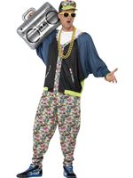 Adult 80s Hip Hop Costume