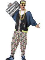 Adult 80s Hip Hop Costume