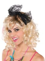 Adult 80s Lace Headband
