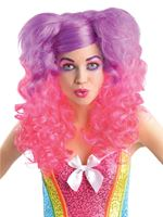 Adult 80s Raging Pony Curls Wig