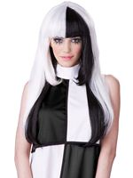 Adult A La Mod Black/White Wig [70769]