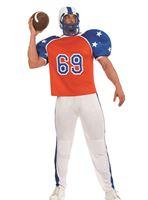 Adult American Footballer Costume [FS4049]