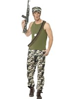 Adult Army Man Costume [44659]