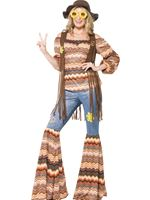 Adult Harmony Hippie Costume [43856]