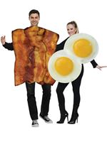 Adult Bacon & Egg Couples Costume [119014]