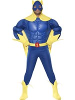 Adult Bananaman Muscle Chest Costume
