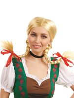 Adult Bavarian Girl Wig